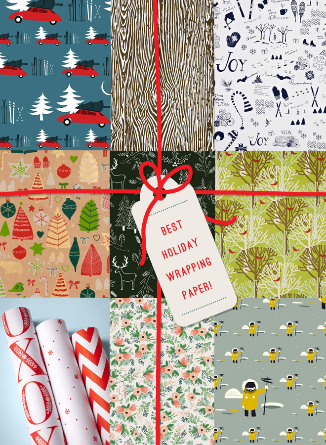 Best Holiday Wrapping Paper