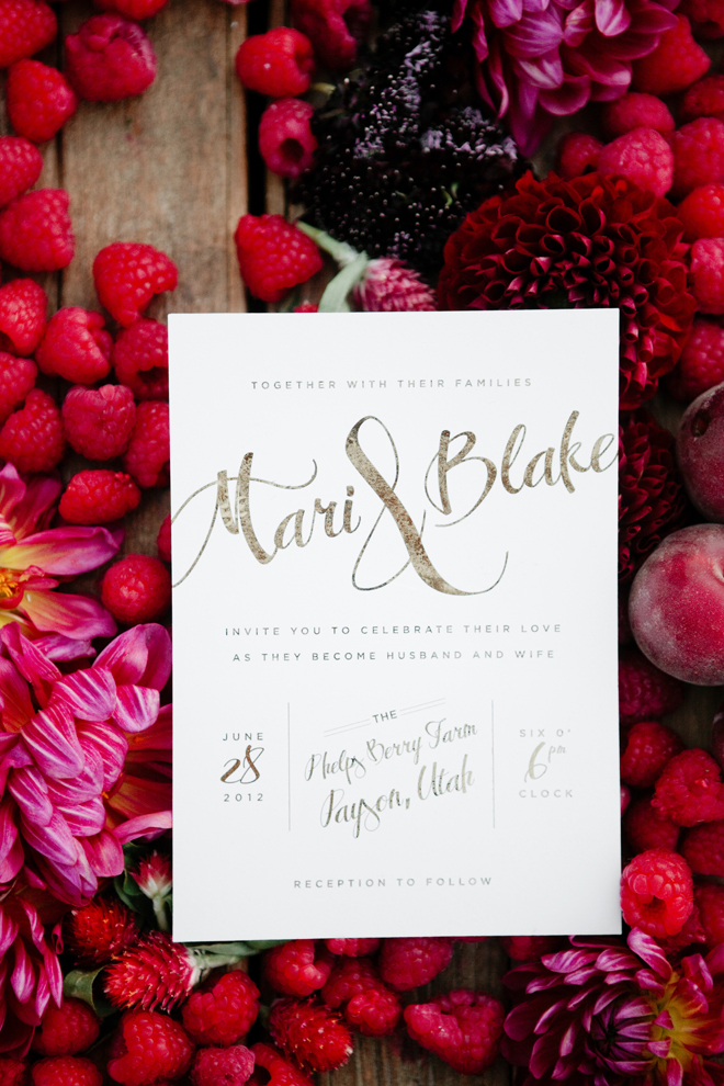 October Ink - Berry Patch Wedding - Green Apple Photography 0