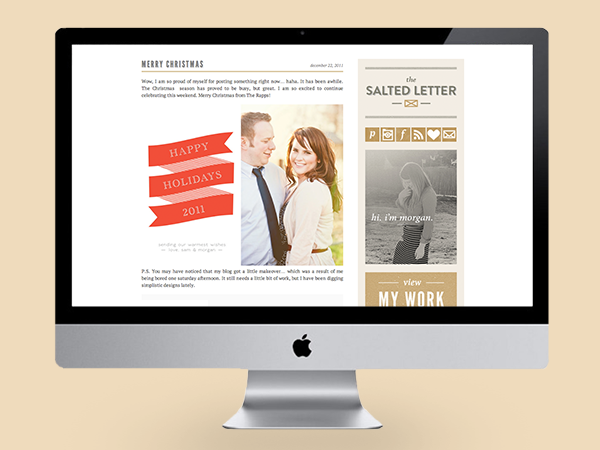 October Ink - The Salted Letter Website