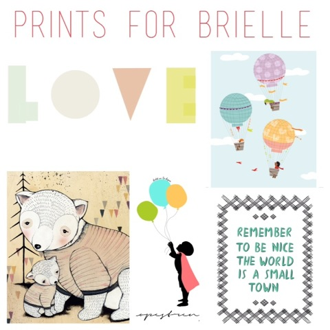 Prints for Brielle - Childhood Cancer Awareness