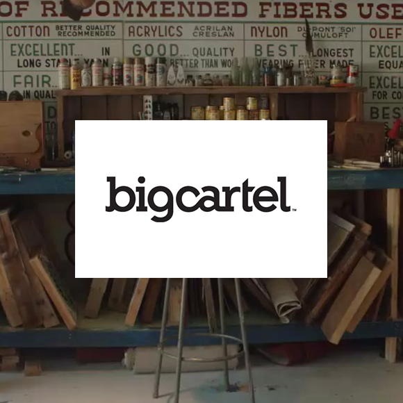 Big Cartel e-commerce Review by October Ink