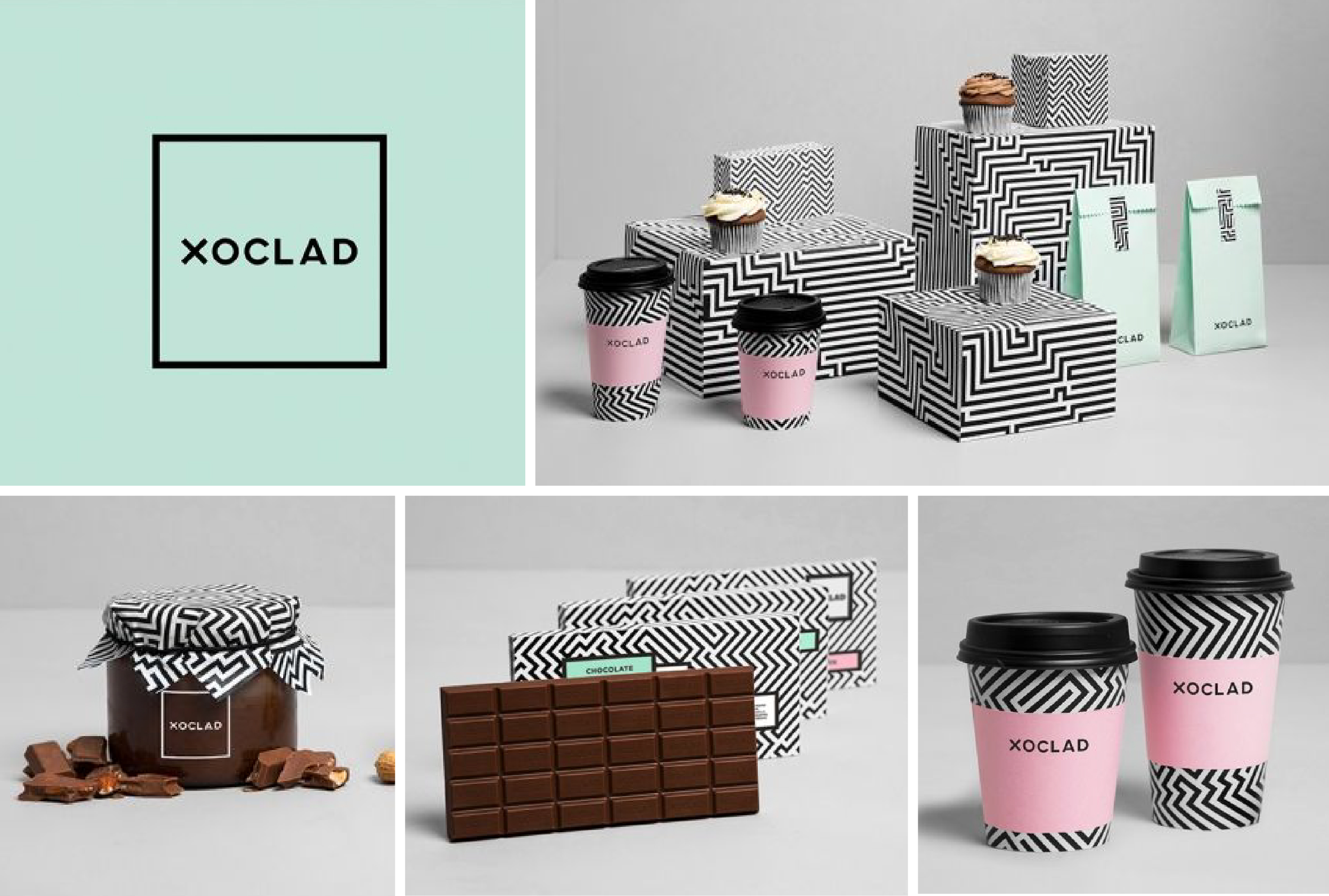 How to use patterns in your branding october ink for Decorator pattern