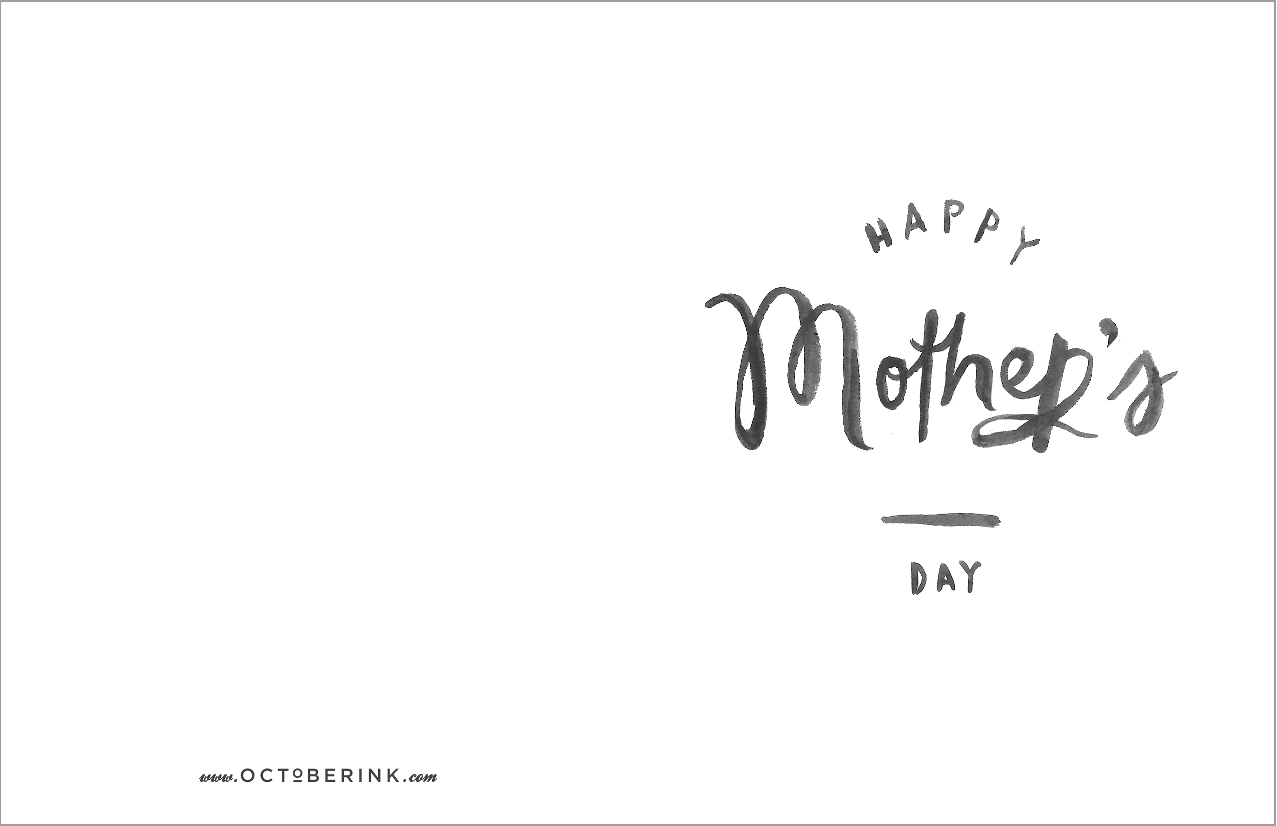Free mothers day printables october ink card printable click here for download maxwellsz