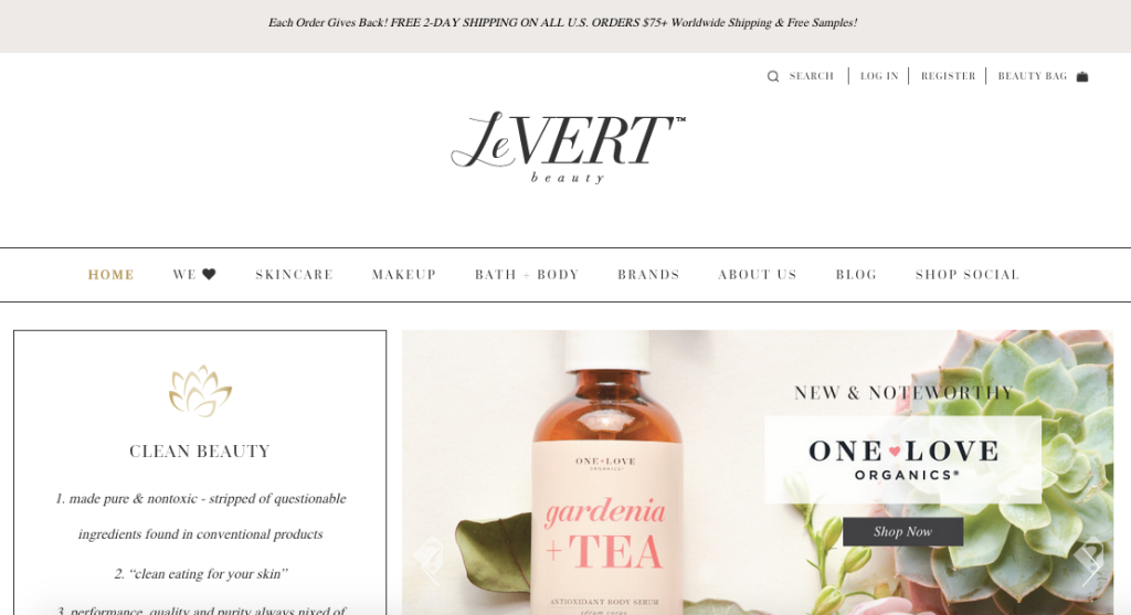 October Ink Shopify Review LeVert Beauty