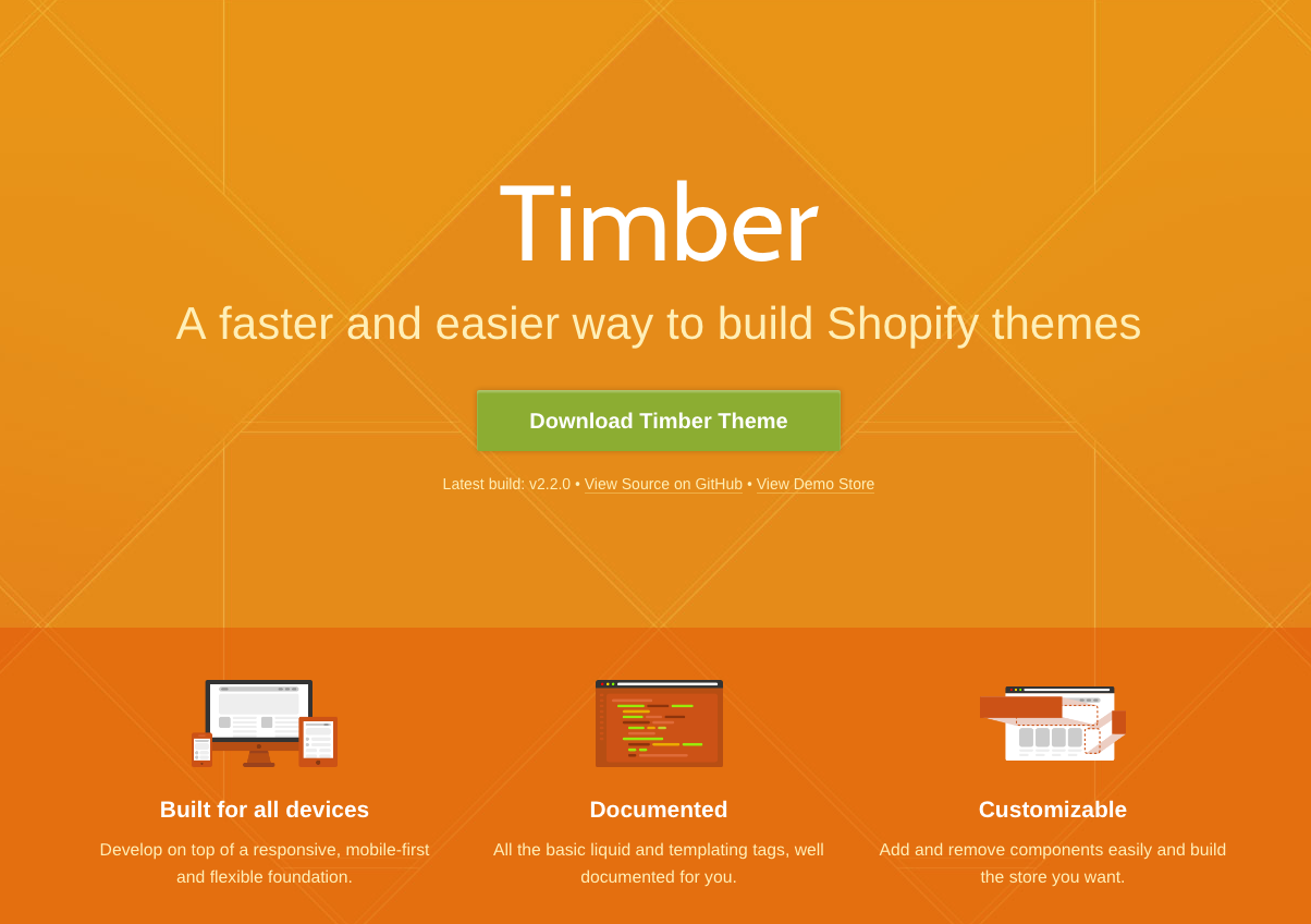 Best custom shopify theme template